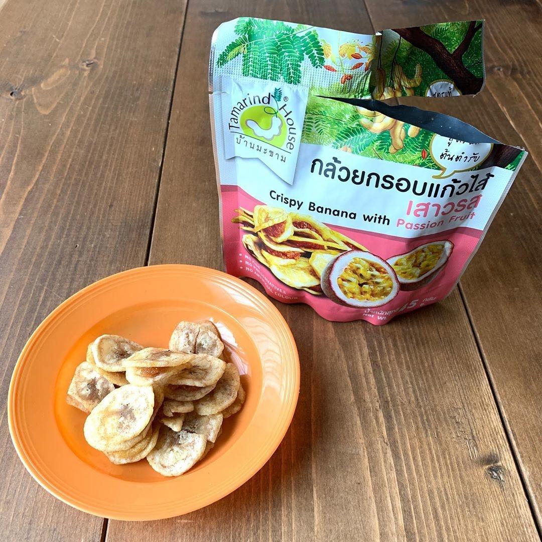タマリンドハウス バナナチップスサンド パッションフルーツ