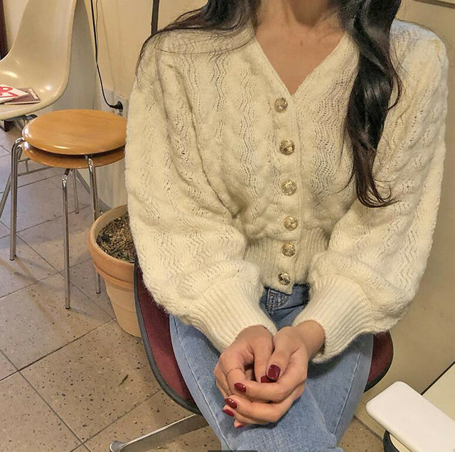 design botann knit cardigan