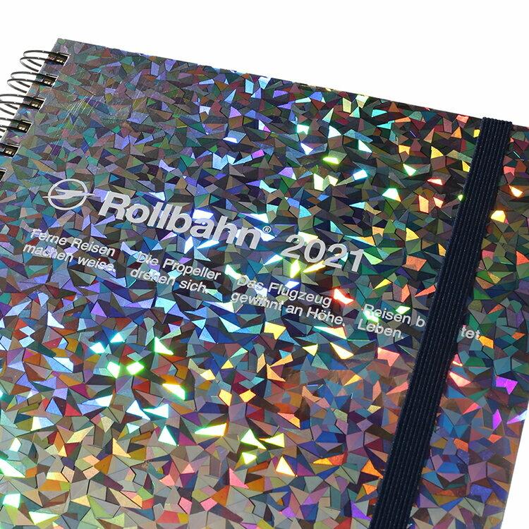 デルフォニックス ロルバーンダイアリー メタリックA5(ホログラム)