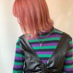 """NEW!噂のSHIMAで""""ピラミンゴカラー""""に。隣のアノ子とかぶらないお可愛なヘアで"""