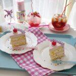 ケーキの上にcherryがちょこん♡千葉県にある、カワイ過ぎるCAFE&ドーナツ屋