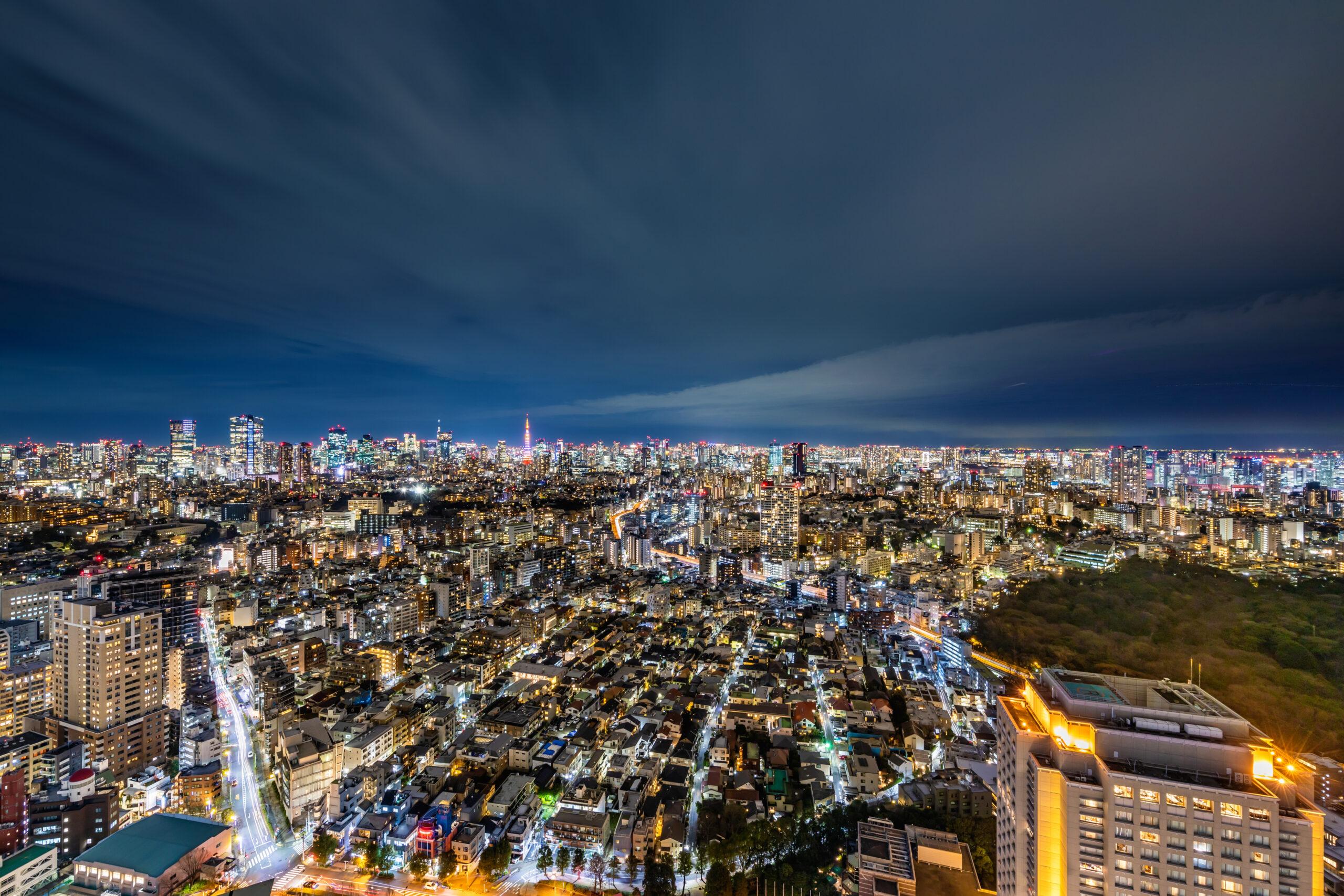 都内で夜景を一望できるところって?