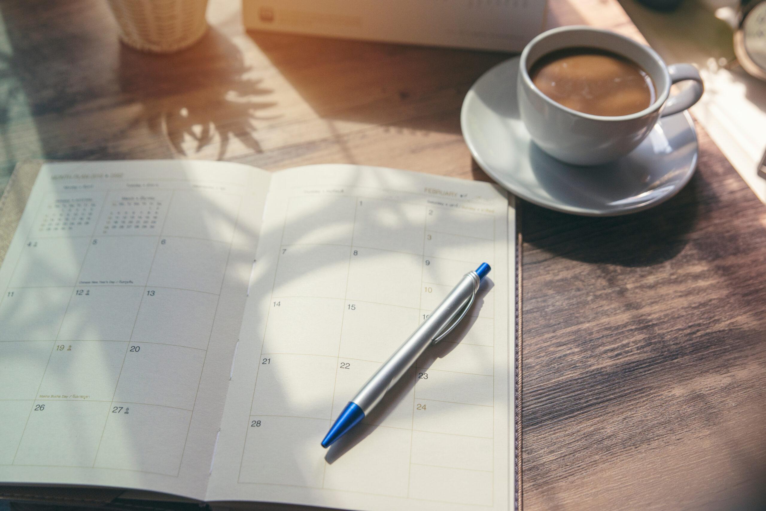 LIST1|まずはスケジュール帳をゲット