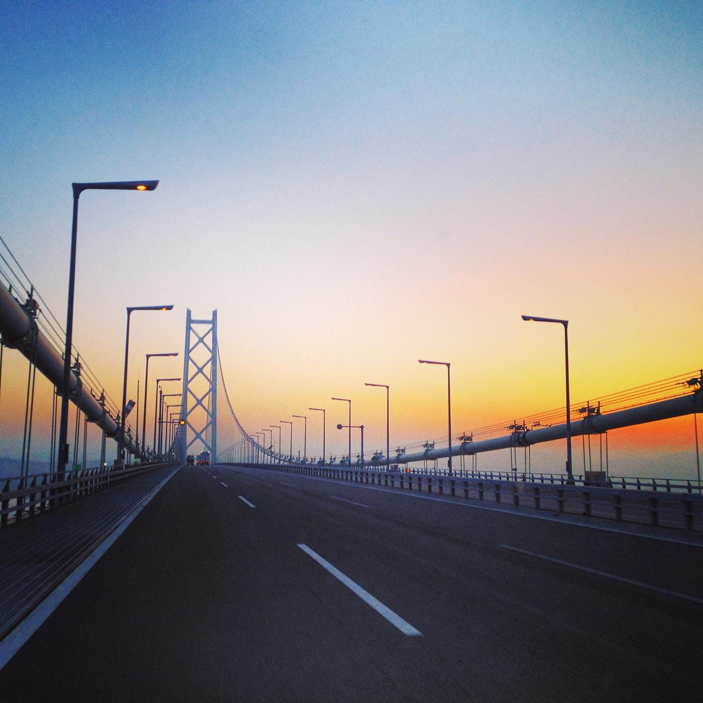 明石海峡大橋周辺
