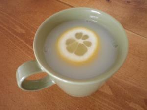 かわいい★ホットレモンカルピス
