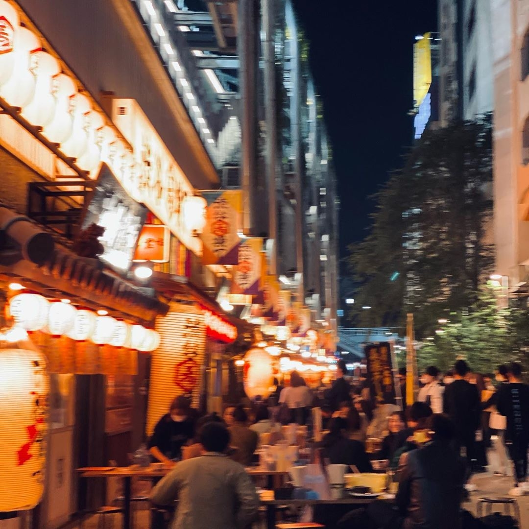 pm6:00〜は新しい渋谷のたまり場で