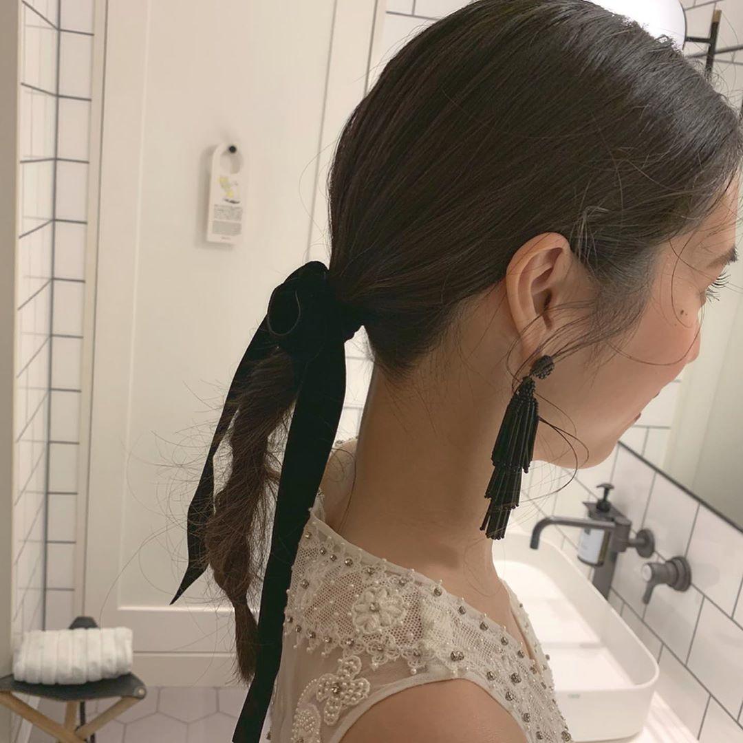 2|シンプルなヘアスタイルもおしゃれだよ