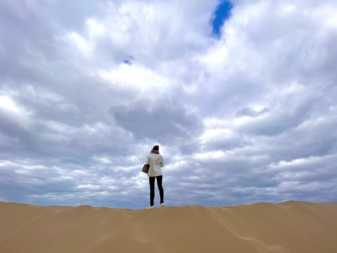 鳥取砂丘@鳥取|普段見られない壮大な景色が