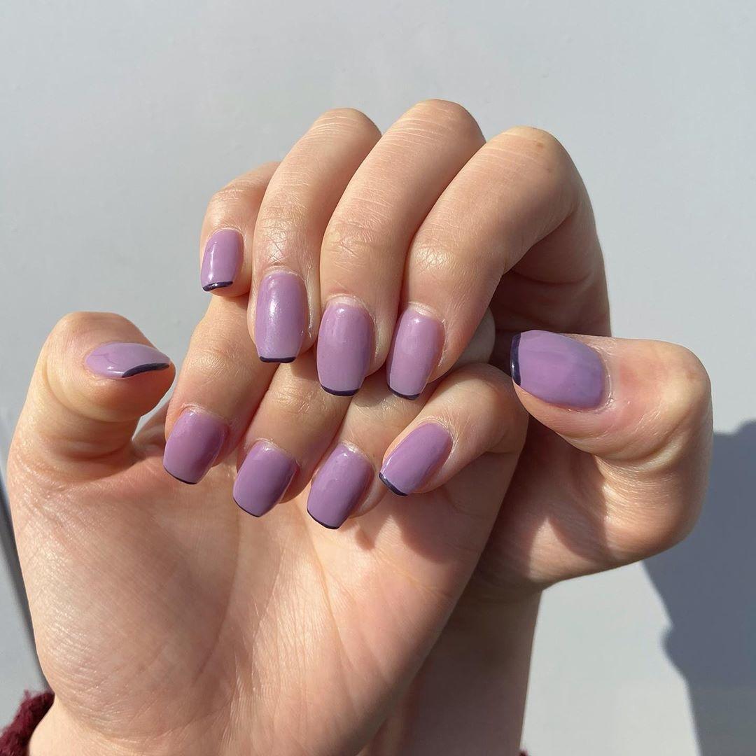 ▷|purple nail