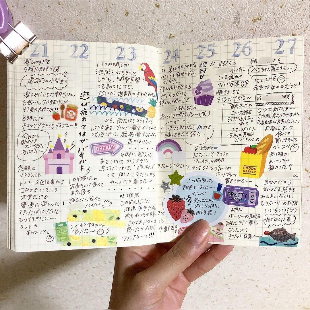 日記を書くのはどう?