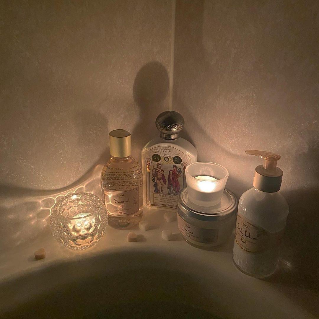 お風呂上がりにリラックスタイムを♡
