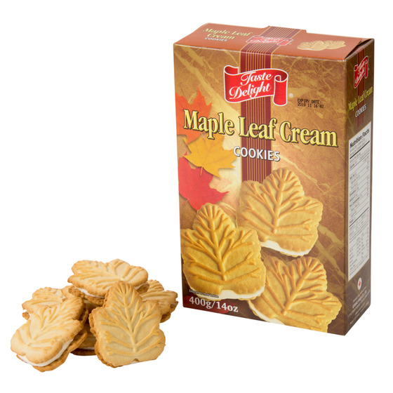 メイプルリーフ クリームクッキー
