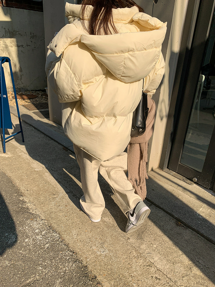 2WAYフードショート中綿ジャケット