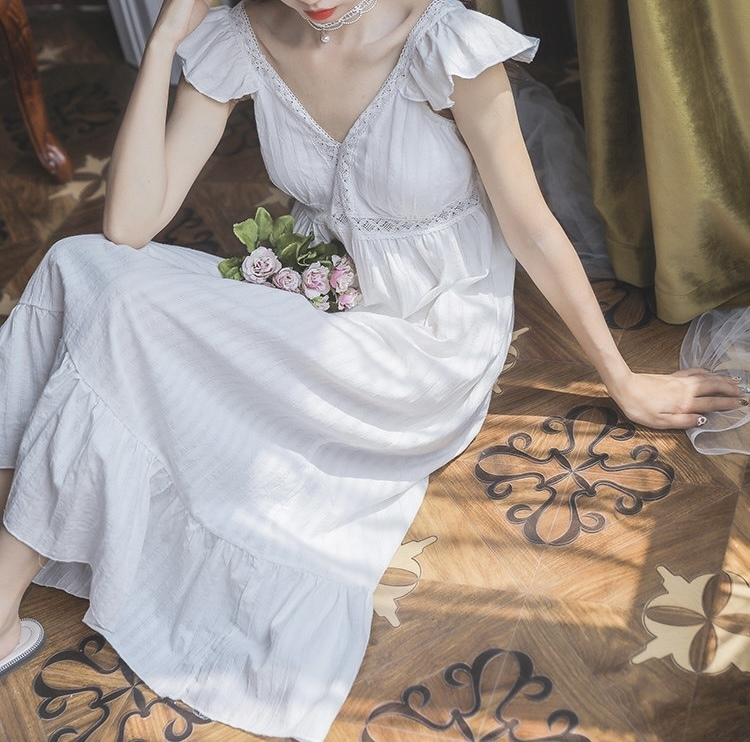 cotton room dress