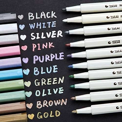 メタリックペン キラキラ 10色セット