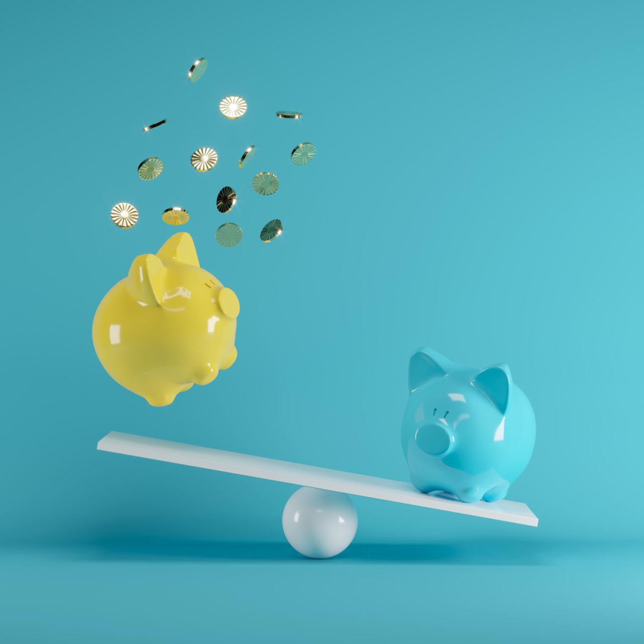 思わずお金を貯めたくなる可愛い貯金箱!貯金方法を学んで金欠ガールは卒業です