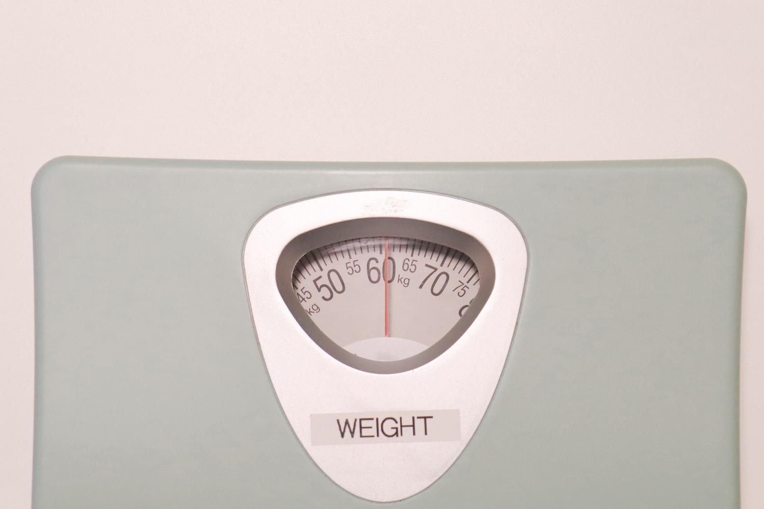 体重を毎日量って管理する