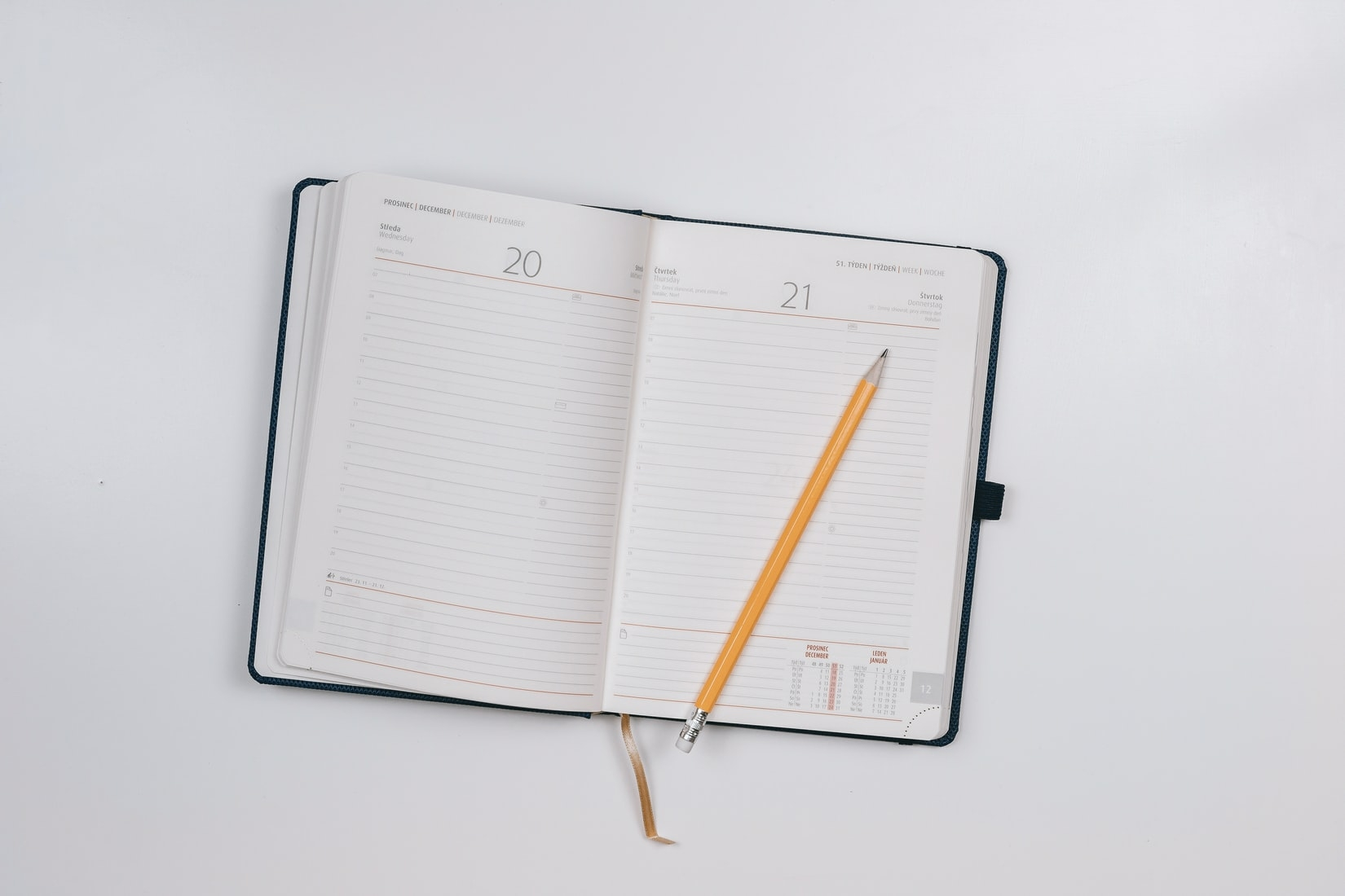 (1)お掃除スケジュール帳を作る