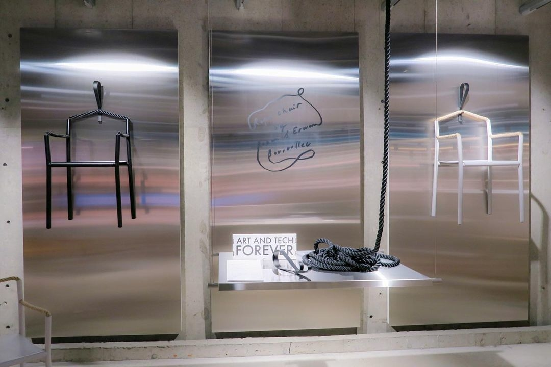 まるで現代アート美術館のような空間