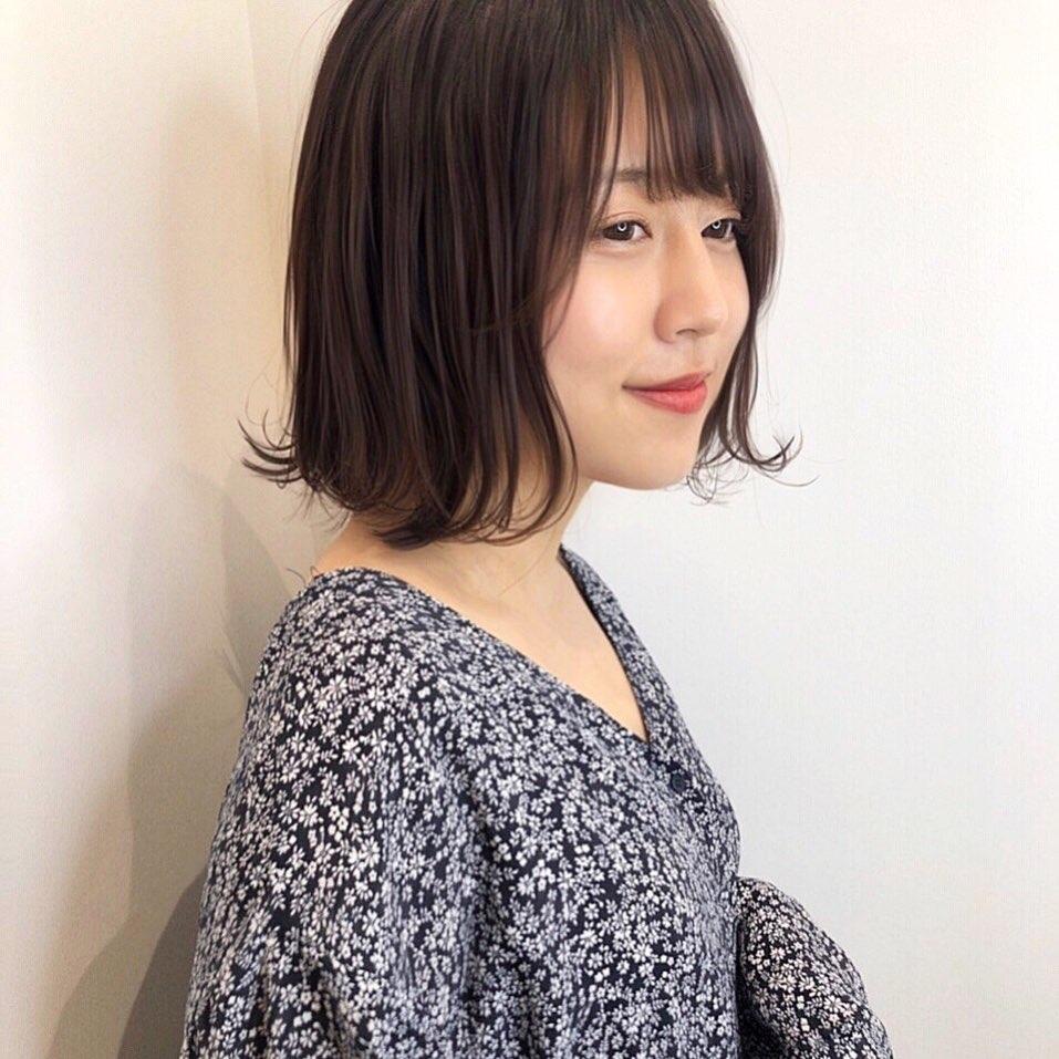 5 #小顔バング