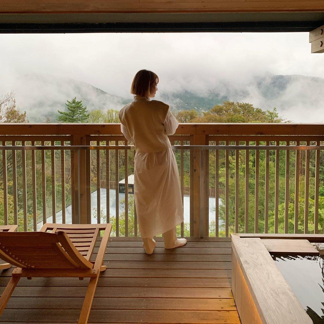 箱根温泉でリフレッシュ♡
