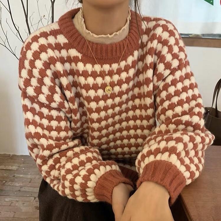 reef pattern knit