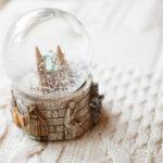 永遠に舞い落ちる真っ白な雪。大切な人に今贈りたい'スノードーム'簡単手作り講座
