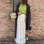 さらっと羽織って簡単にキマる。春にぴったりな3色のトレンチコートコーデ9選
