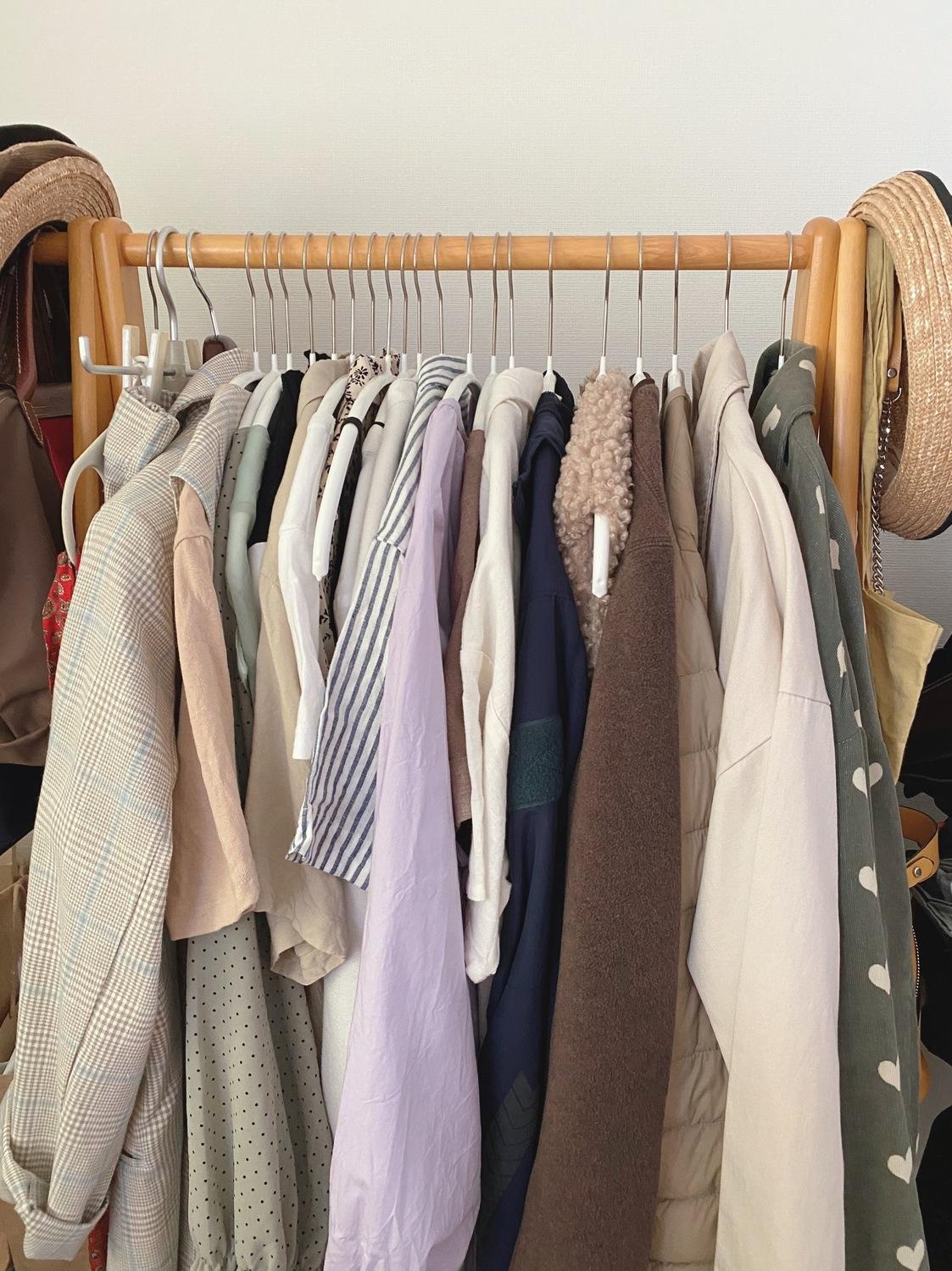 ④毎日の洋服選びをもっと簡単にしたいな…