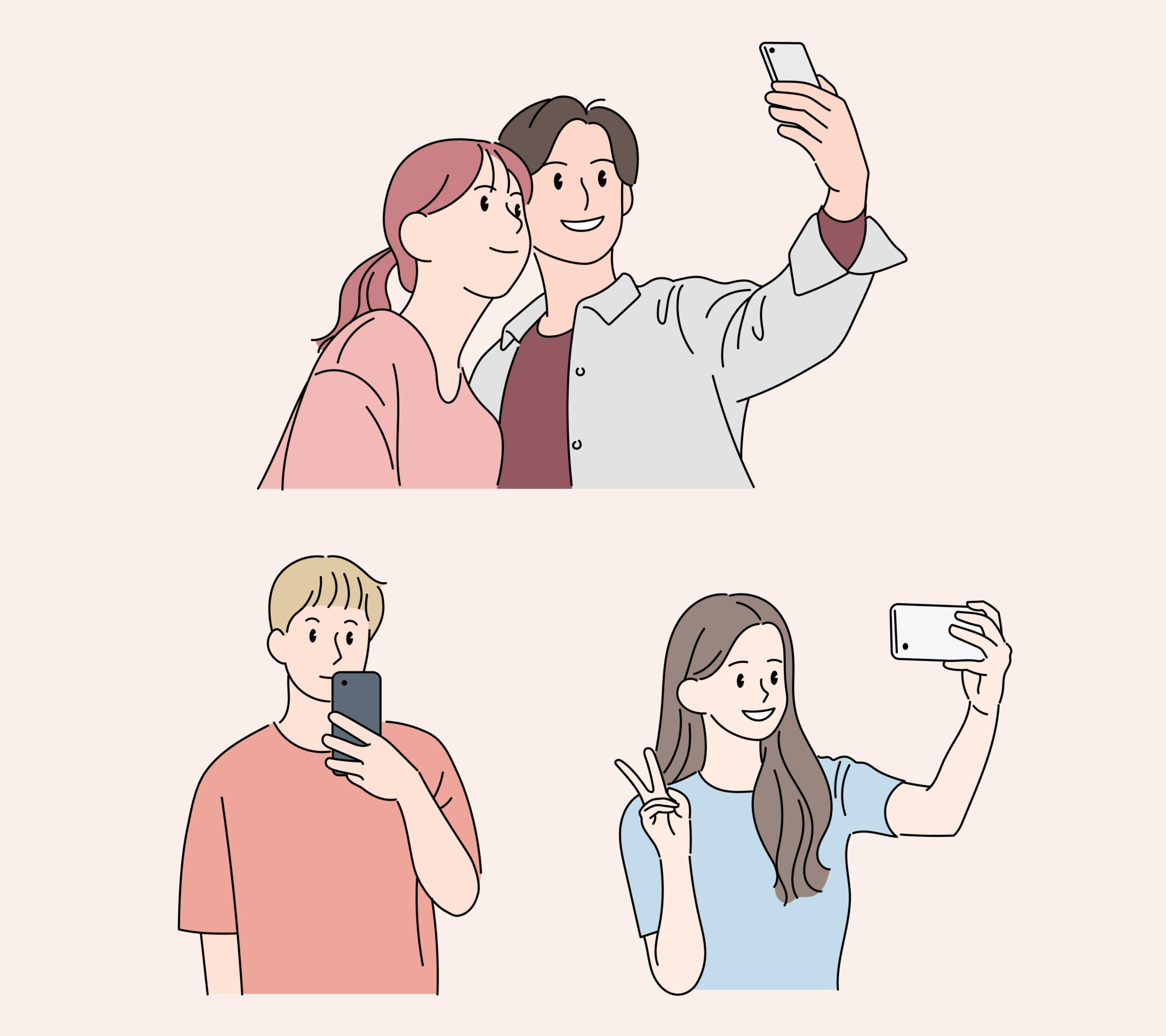 写真を撮ろうと言って、さりげなく