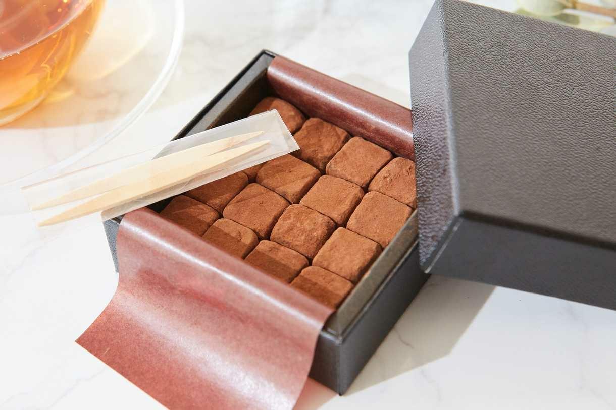 とろける生チョコレートで自分を甘やかして