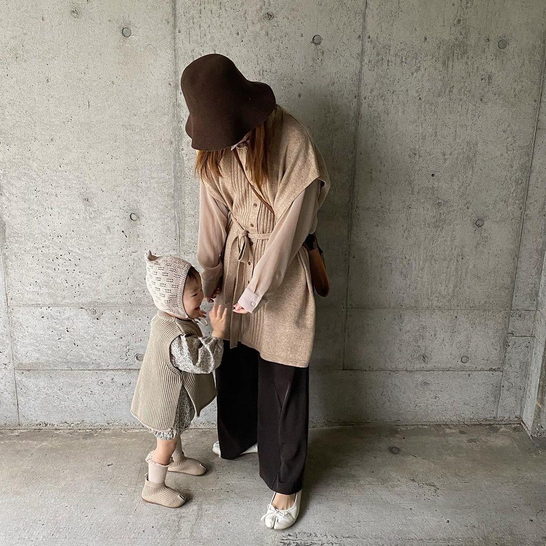 隠れお洒落さんが見つかる「#母娘コーデ」