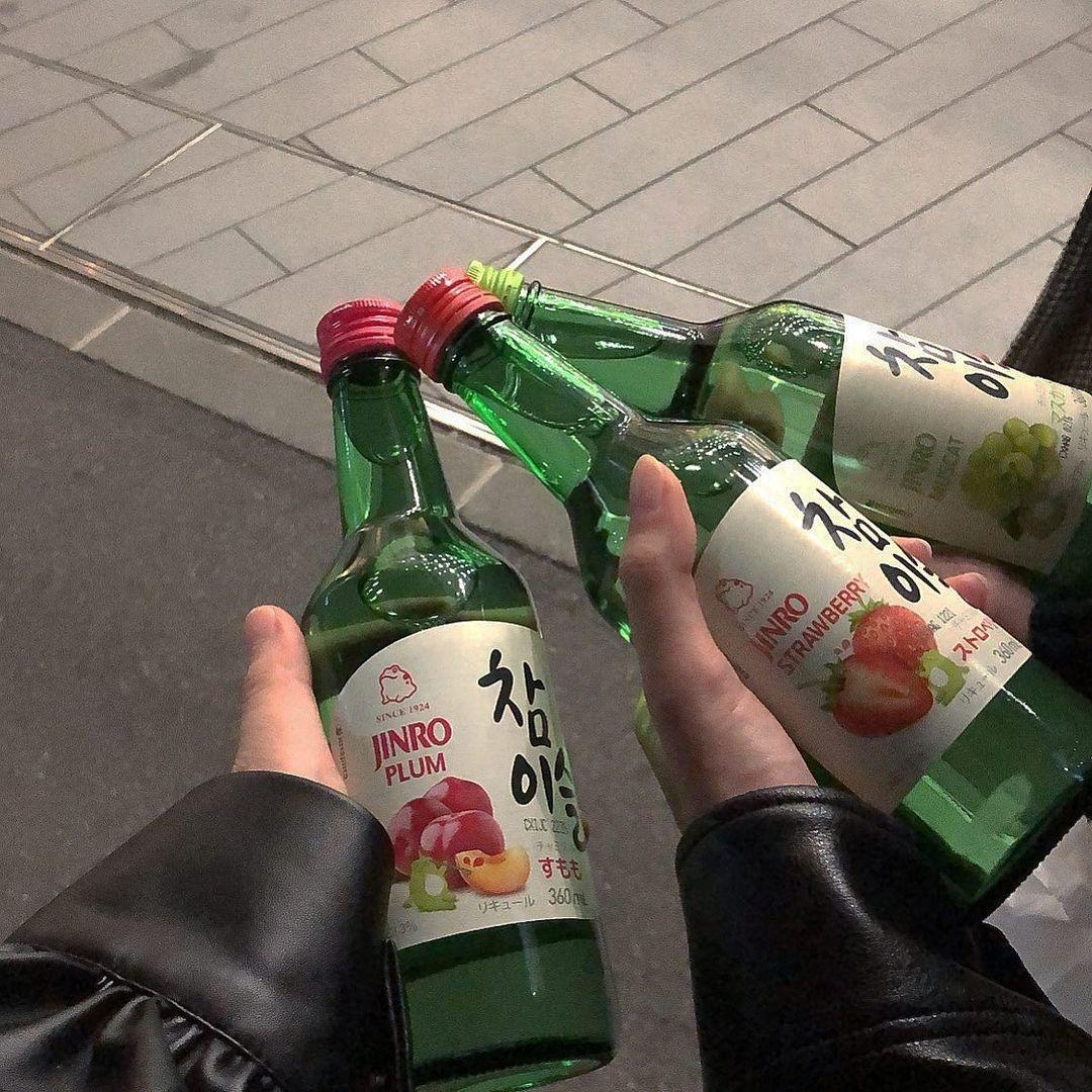 韓国のお酒を楽しもう♡