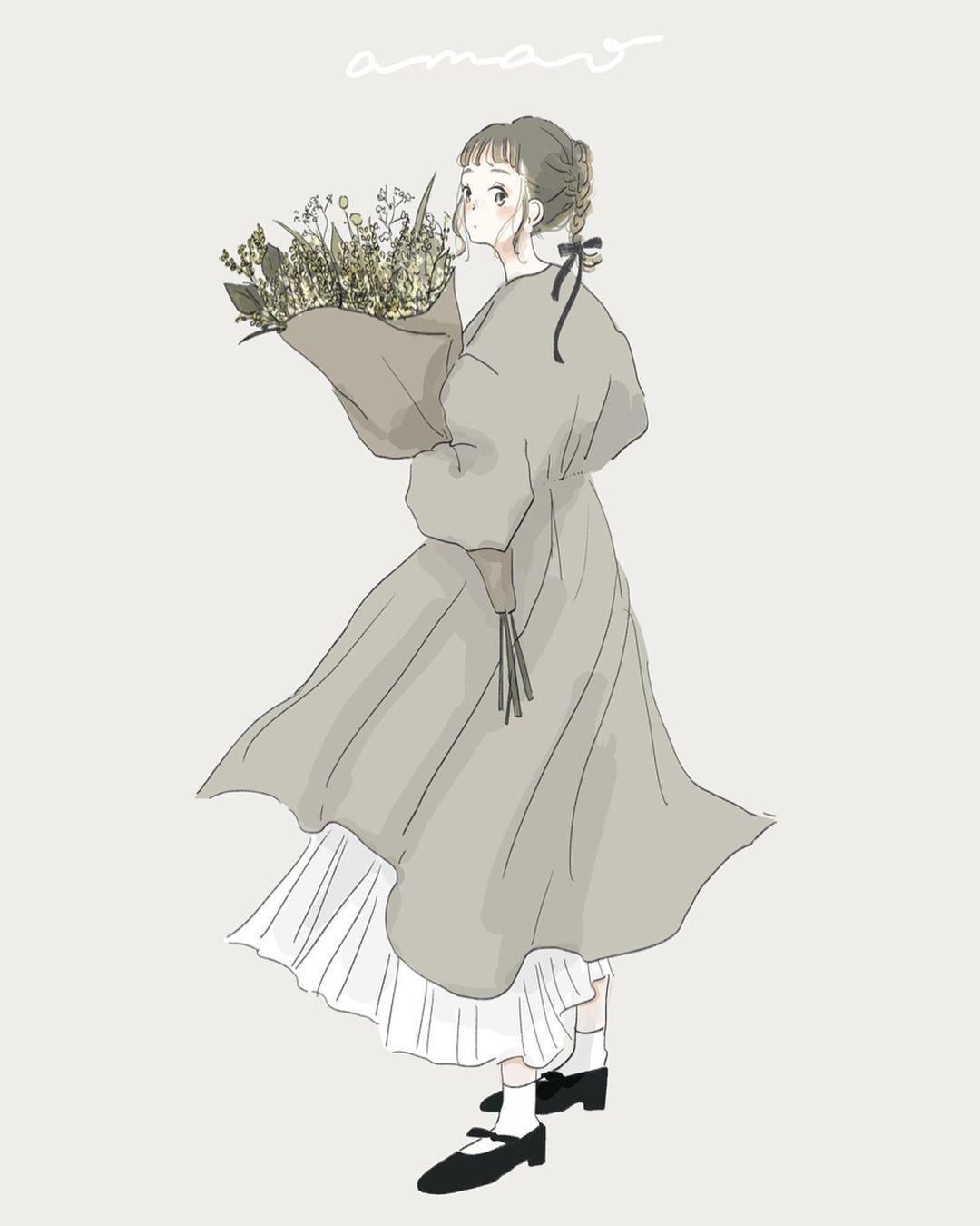 #2|淡いカラーと繊細な絵ならamaoさん