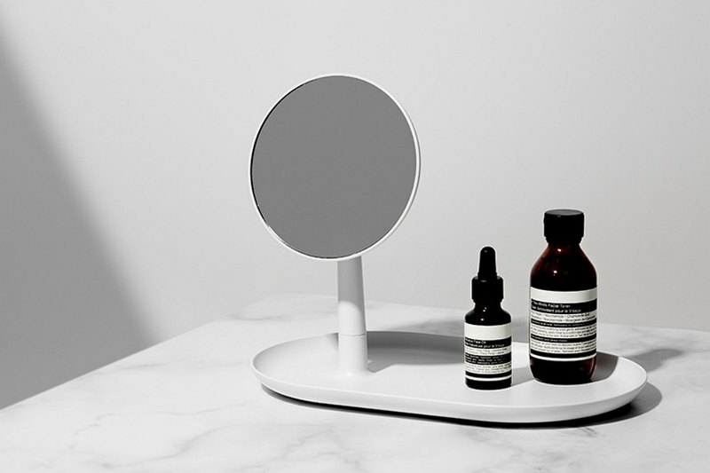 STAND MIRROR TRAY