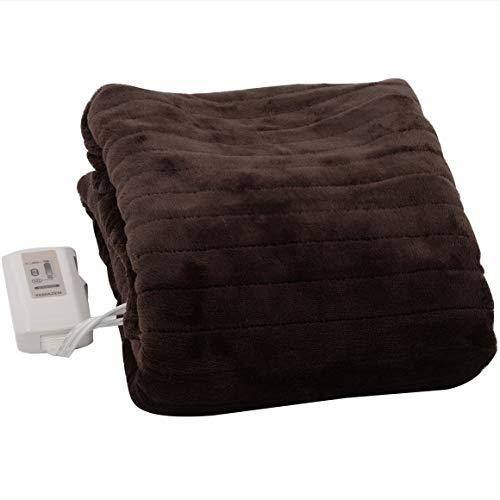 ふわふわもこもこ 電気敷毛布