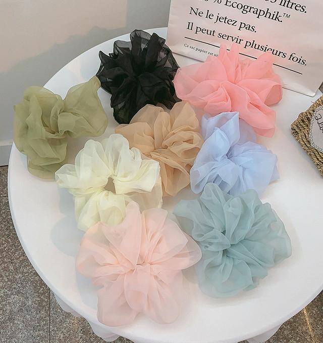 刺繍BAG&シュシュが可愛すぎっ♡BASEで見つけたオーガンジー素材のアイテム集