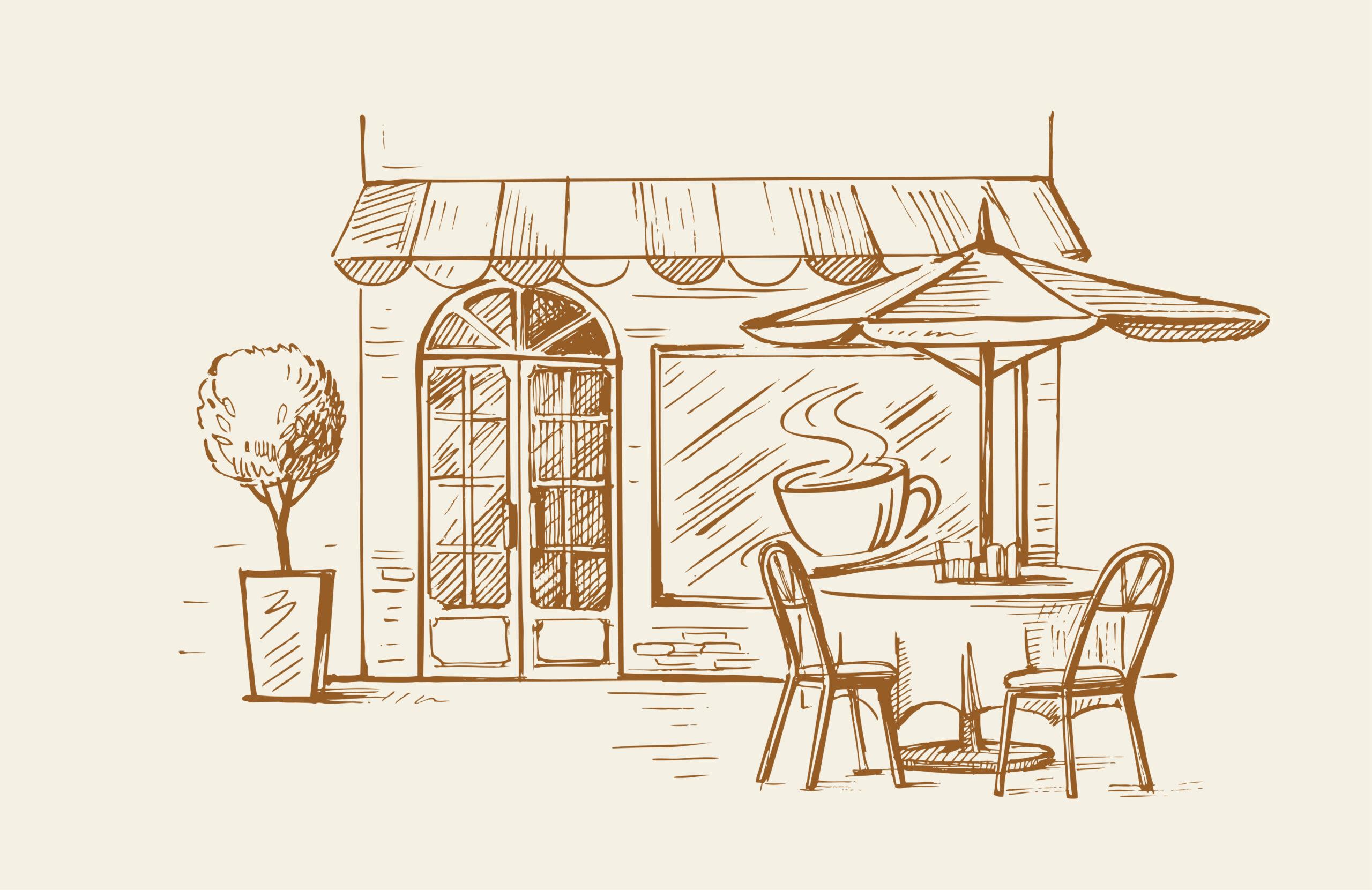 カフェでのメニュー選びのように