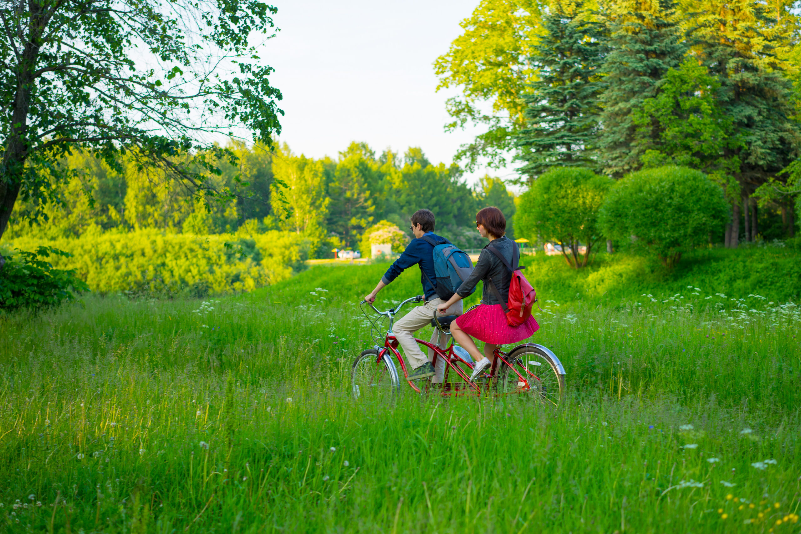 二人乗り自転車をレンタルしてみて
