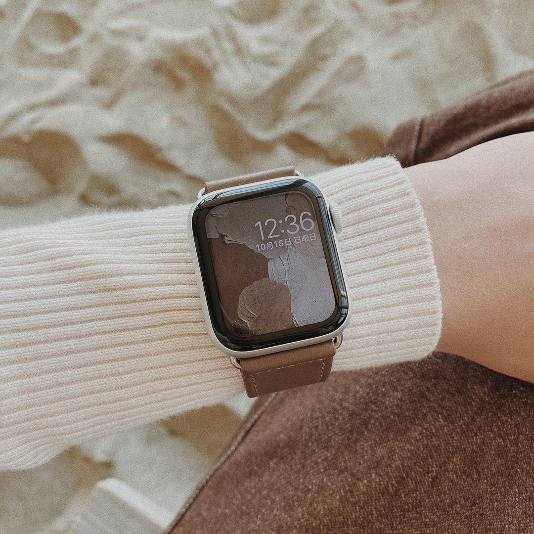 Apple Watchと大人コーデに挑戦