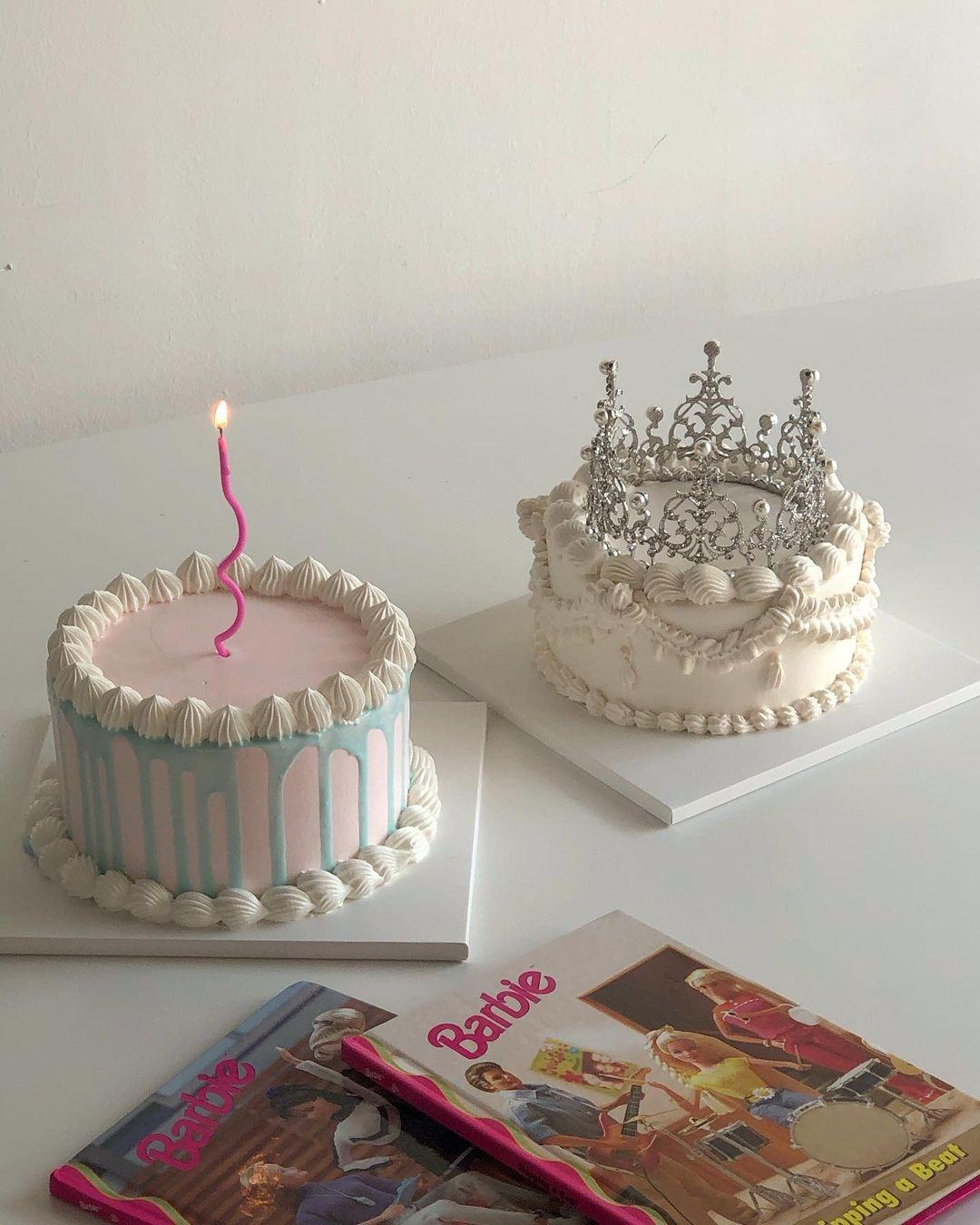티아라 케이크♡