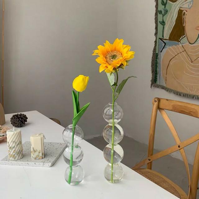 ミニバブル4連花瓶