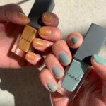 私の爪を鮮やかに彩らせて♡参考にしたい、春にピッタリなセルフネイル特集