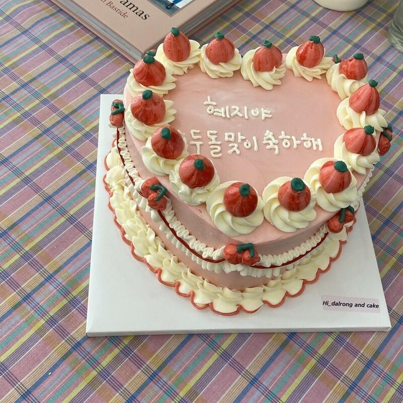 韓国でブームの新たなケーキ?