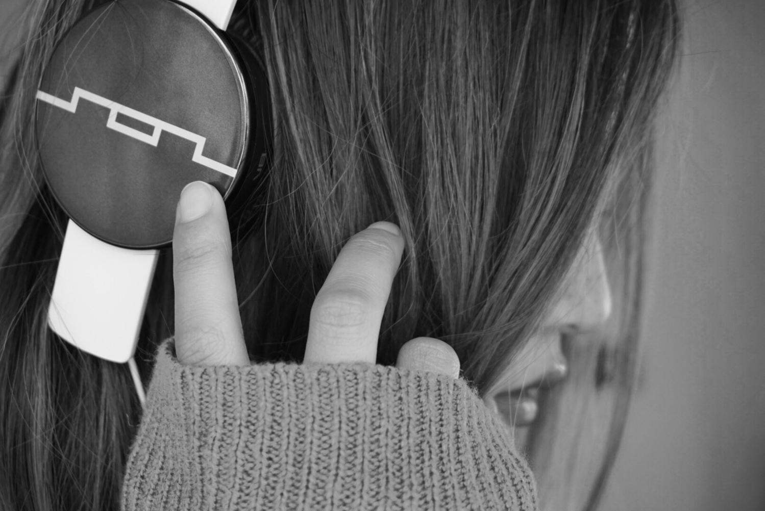 音楽は私の生活の一部なんだ。