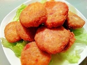 ふわっカリっ♡チーズ入り♡豆腐ナゲット