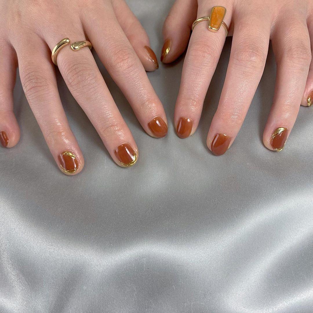 sexy|ゴールドミラーでぐっと大人感を