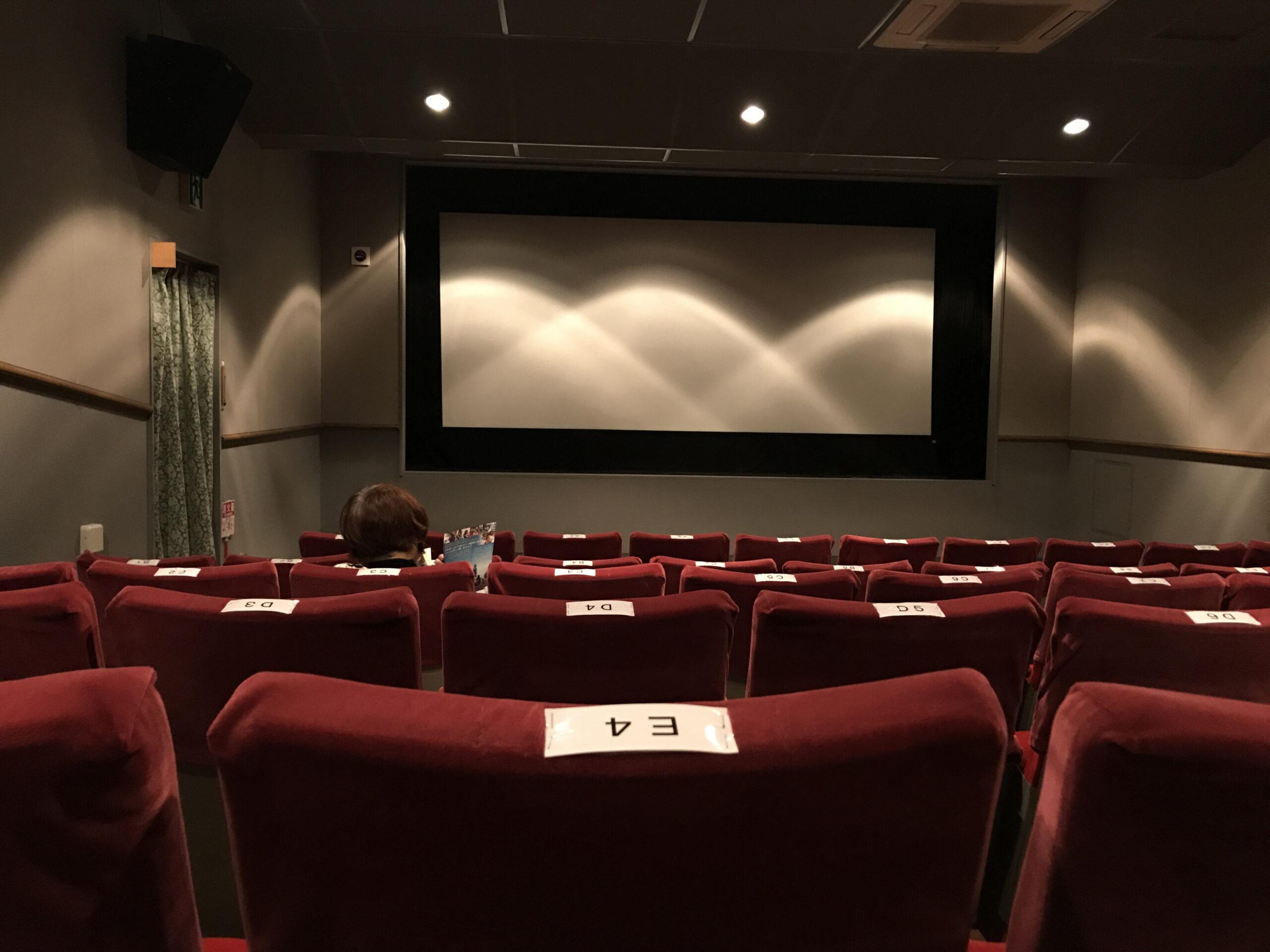 映画館の大迫力サウンド