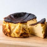 □笄軒のバスクチーズケーキ