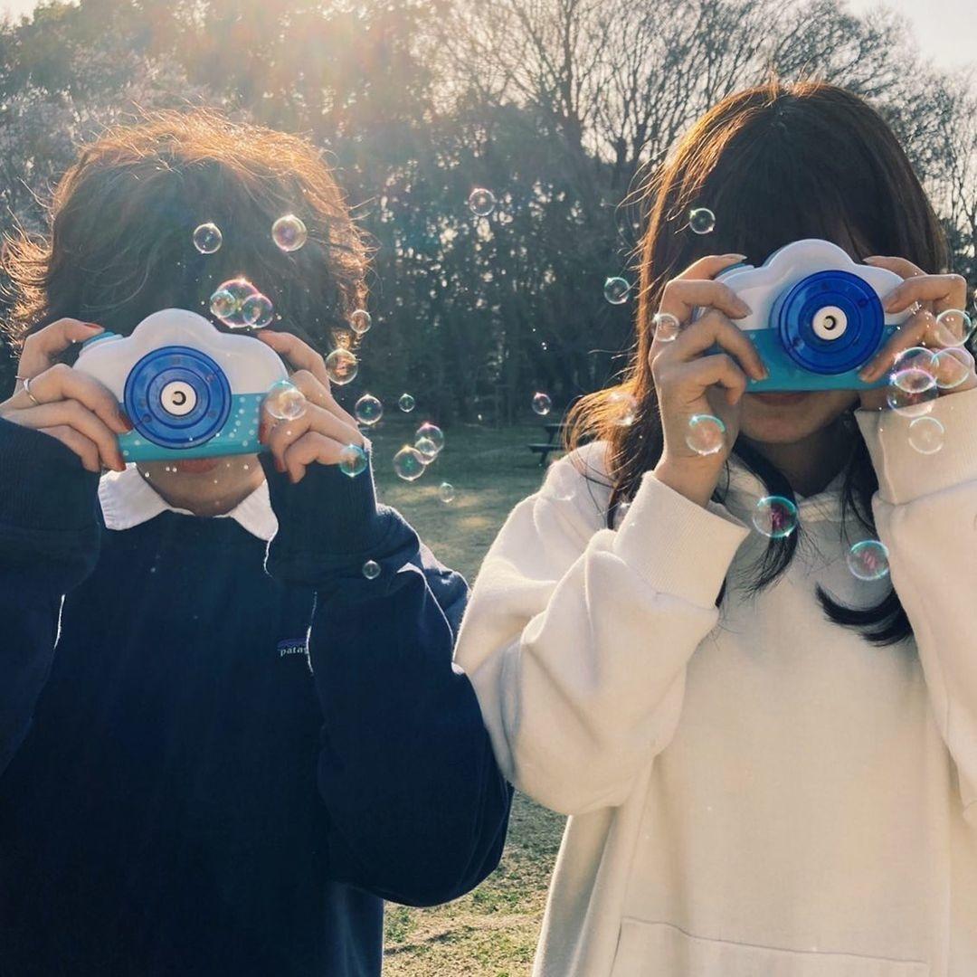 バブルカメラ×フィルムがエモすぎる